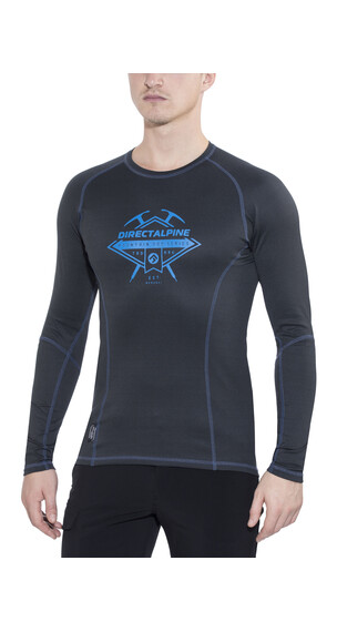 Directalpine Shark LS T-Shirt Unisex anthrazit/blau